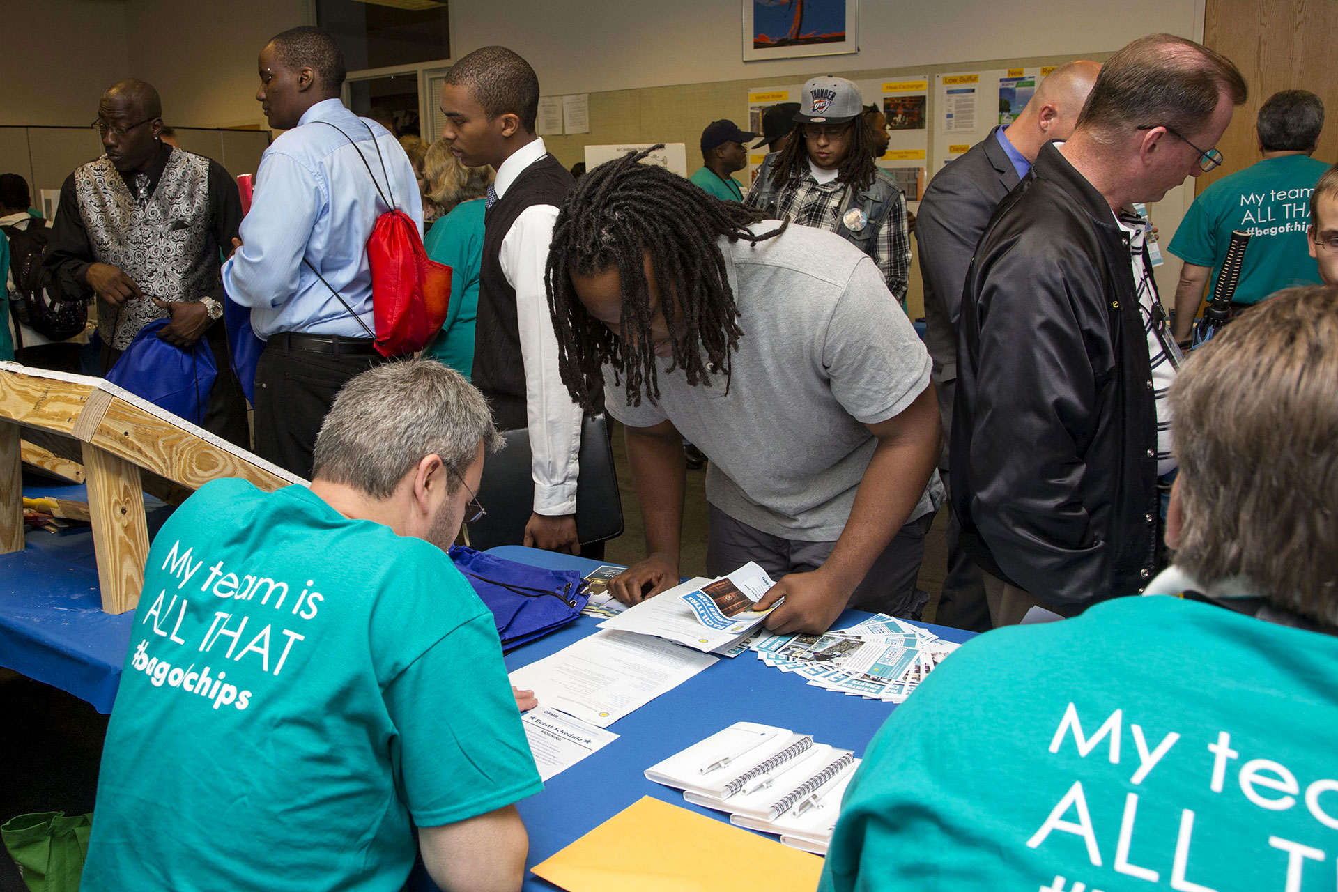 Signing up for OFMR Career Fair 2014