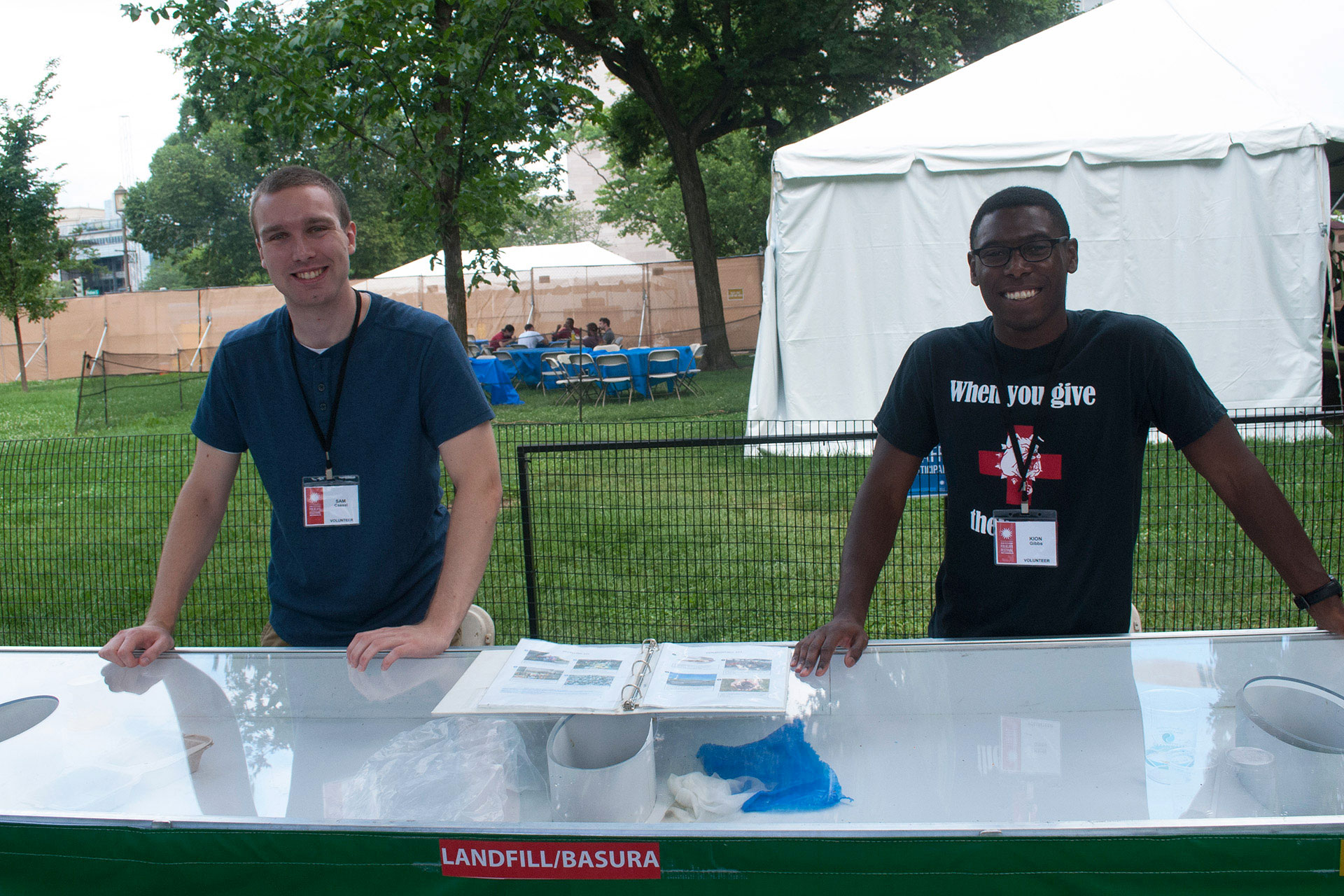 Folklife Festival volunteers